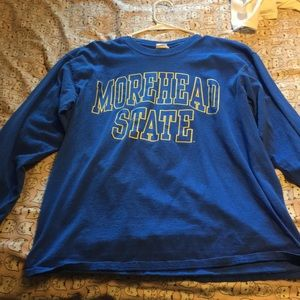 Long sleeve morehead state university shirt!